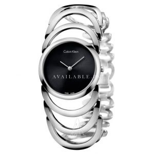 Calvin Klein Women's Quartz Watch Stainless Steel Bracele K4G23121