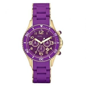Marc By Marc Jacobs MBM2549 Purple and Gold Steel Bracelet