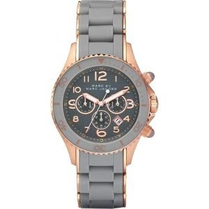 Marc Jacobs MBM2550 Womens Watch with Leather Strap Multi-Colour