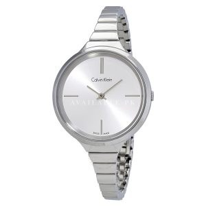 Calvin Klein Womens Lively Watch Stainless Steel K4U23126