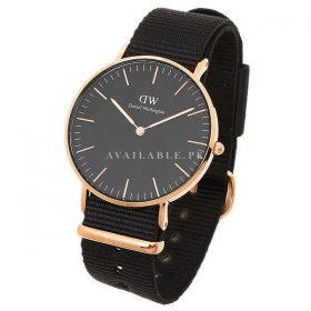Daniel Wellington Unisex Stainless steel plated Watch DW00100150