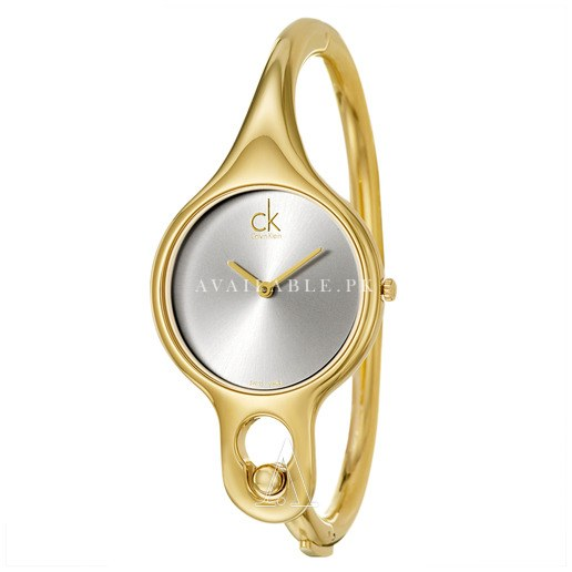 Calvin Klein Women's Quartz yellow gold Watch K1N22526