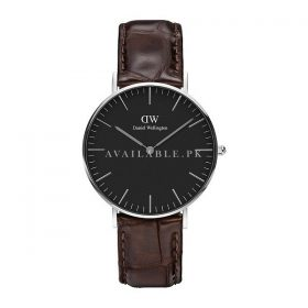 Daniel Wellington Classic Analog Black Dial Unisex Watch-DW00100146