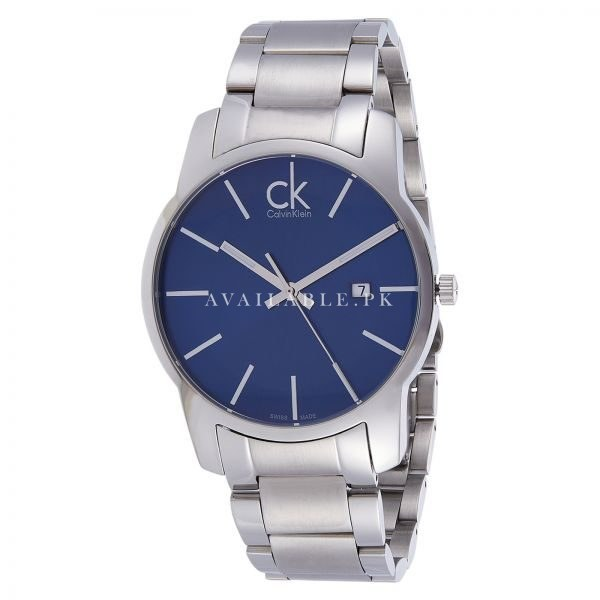 Ck Watches City Analogue Band Colour Silver K2G2G14N