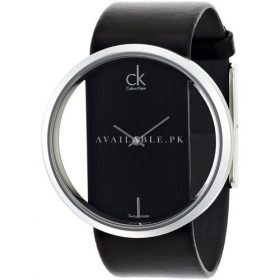 Calvin Klein - CK Ladies Black Strap Watches Glam K9423107 - WW