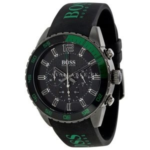 Hugo Boss Gents Watch Chronograph Quartz 1512847 Silicone