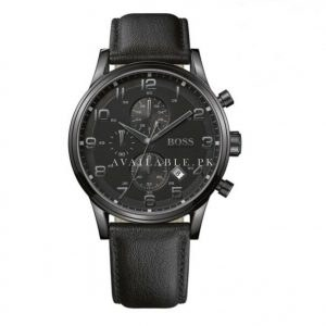 Hugo Boss Black 1512567 Round Black Dial Men's Standard