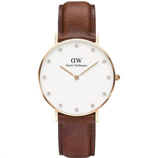 Daniel Wellington HER St. Mawes Watch Brown Leather 00100075