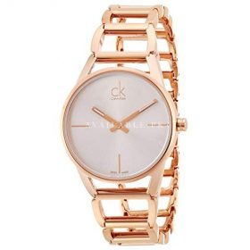 Calvin Klein Womens Stately Watch Stainless Steel K3G23626