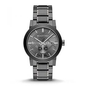 Burberry Men's City BU9902 Grey Stainless-Steel Swiss Quartz Watch
