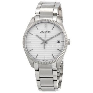 Calvin Klein Men's Quartz Anti reflective sapphire Watch K5R31146