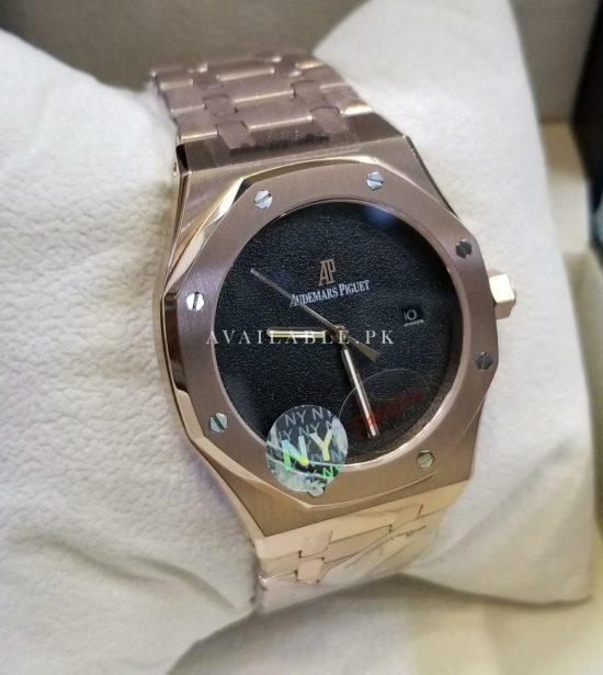 Audemars Piguet Copper Body Black Dial Swiss Automatic Men Watch