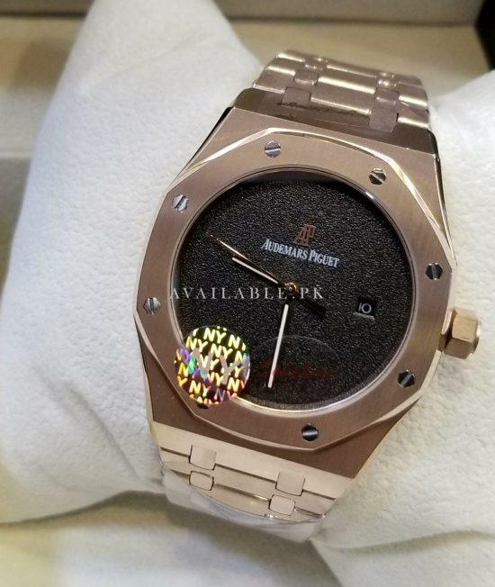 AP AAA Quality Master Replica All Stainless steel Automatic Swiss Machine Sapphire Crystal Glass