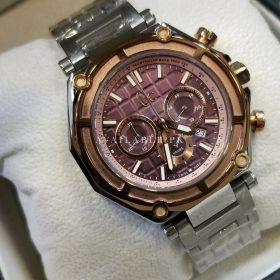 Guess Plum Dial Chronograph Stainless Men's Watch Price In Pakistan