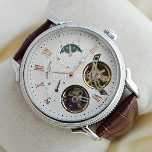 Patek Philipe Two Tourbillon Automatic Moon Craft Men Watch Price In Pakistan