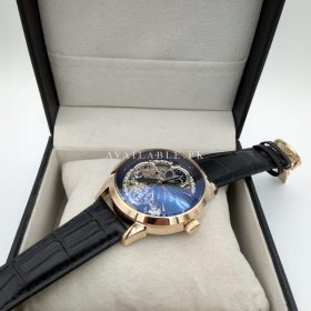 Patek Philippe Rose Gold Bezel With Moon Craft Automatic Men's Watch Price In Pakistan