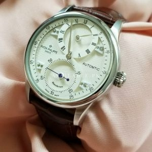 Patek Philippe White Dial Dual Hands Men's Watch Price In Pakistan