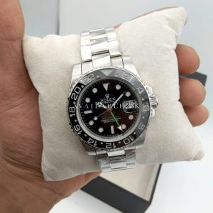 Rolex GMT Master II Stainless Steel Black Dial Price in Pakistan