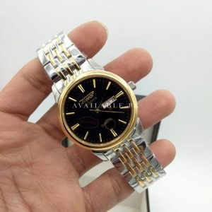 TISSOT 1853 Visdate Two Tone Black Dial Day Date Men Watch Price In Pakistan