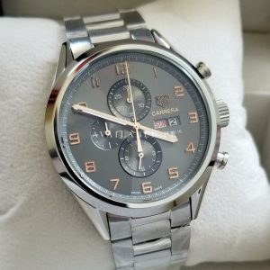 Tag Heuer Calibre 5 Grey Copper Figures Chronograph Men Watch Price In Pakistan