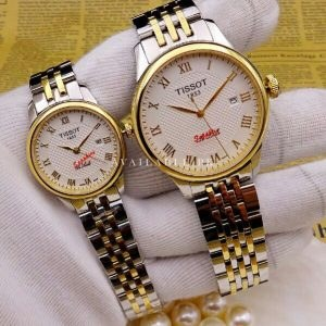 Tissot Two Tone Roman Figure Couple Watch Price In Pakistan