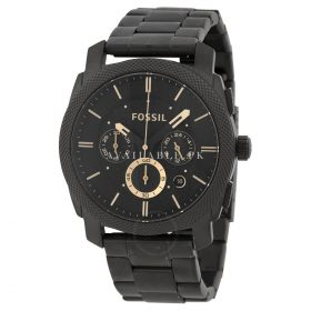Fossil Machine Series FS4682 Black Chronograph Men Watch Price In Pakistan