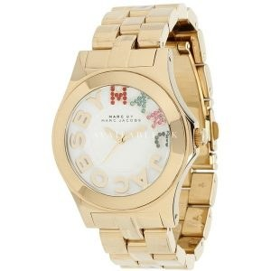 Marc by Marc Jacobs MBM3137 Gold Rivera Watch
