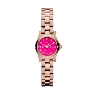 Marc Jacobs Womens Stainless Steel Pink Watch MBM3203