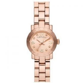 Marc Jacobs Rose Gold Stainless Steel Rose Dial Women's MBM8613
