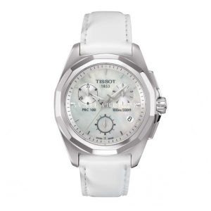 PRC 100 Chronograph Silver Dial Ladies Watch#T008.217.16.111.00