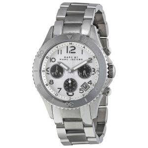 Marc by Marc Jacobs MBM3155 Mens Silver Rock Chronograph Watch