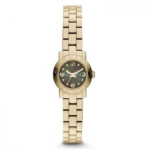 Marc by Marc Jacobs Goldtone Stainless Steel Logo Watch - Gold