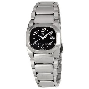 T-Moments Quartz Black Dial Ladies Watch #T009.110.11.057.00