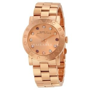 Marc Jacobs Women's MBM3216 Crystal-Accented Stainless Steel Watch