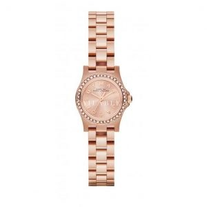 Marc Jacobs MBM3278 Rose Gold Henry Dinky Glitz Ladies Watch