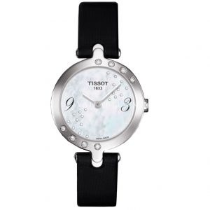 Tissot Flamingo White Diamond Swiss Ladies Watch T003.209.67.112.00
