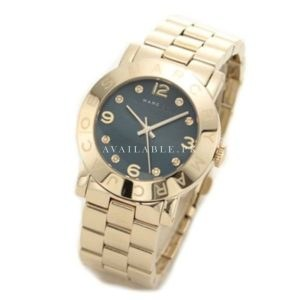 Marc Jacobs Women's Amy Gold Tone Watch - MBM3166