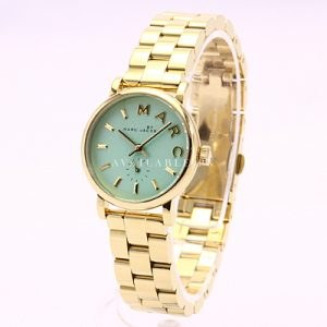 Marc Jacobs MBM3284 Ladies Minty Gold Baker Watch