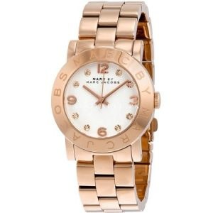 Marc Jacobs White Dial Rose Gold-Tone Ladies Watch MBM3077Marc Jacobs White Dial Rose Gold-Tone Ladies Watch MBM3077