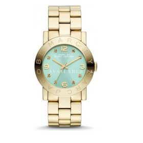 Marc Jacobs Amy Gold Watch MBM3301 gold-tone stainless steel