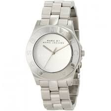 Marc Jacobs Blade White Dial Stainless Steel Ladies Watch MBM3125