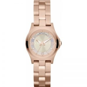 Marc Jacobs MBM3235 Ladies Rose Gold Baby Dave Dinky Watch