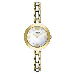 Tissot Women's T003.209.22.117.00 White-Dial T Flamingo Watch