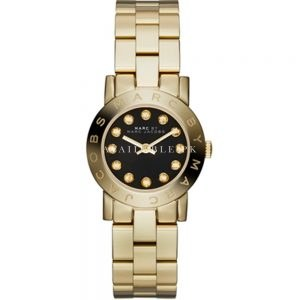 Marc by Marc Jacobs MBM3336 Black Dial Gold Ladies Watch