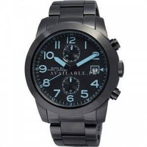 Marc Jacobs Chronograph Dark Grey Dial plated Mens Watch MBM5031