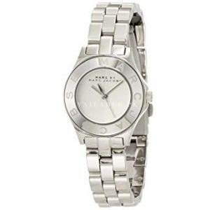Marc Jacobs Rivera White Dial Stainless Steel Unisex Watch MBM3136