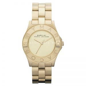 Marc by Marc Jacobs Women's MBM3126 Blade Gold Watch