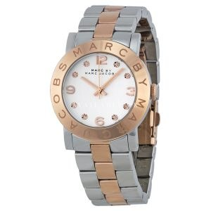 Marc Jacobs Women's MBM3194 Amy Tone Stainless Steel Watch