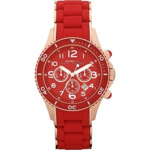 Marc by Marc Jacobs MBM2577 Red Rock Chrono Watch