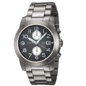 Marc Jacobs Watches Men's Larry Stainless Steel Watch Black